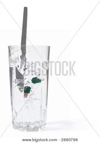 Water With Pills