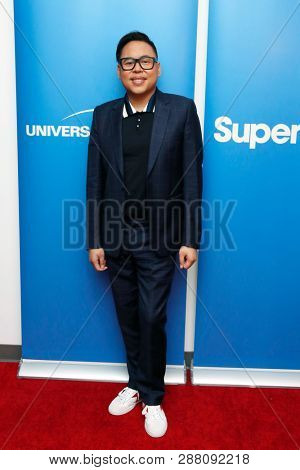 LOS ANGELES - MAR 5: Nico Santos at the NBC And Universal Television's 'Superstore' Academy For Your Consideration Press Line at Universal Studios on 5 March, 2019 in Los Angeles, CA