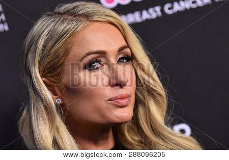 LOS ANGELES - FEB 28:  Paris Hilton arrives to