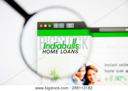Los Angeles, California, Usa - 5 March 2019: Indiabulls Housing Finance Website Homepage. Indiabulls