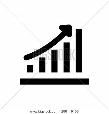 Analytics Icon Isolated On White Background. Analytics Icon Simple Sign. Analytics Icon Trendy And M
