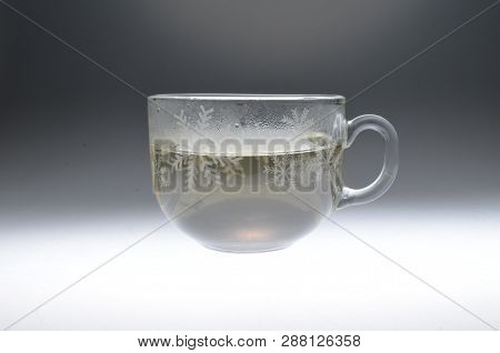 Full Glass Of Water Isolated