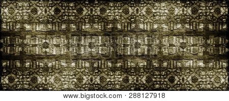 Fantastic Abstract Grunge Panorama Background Design Illustration