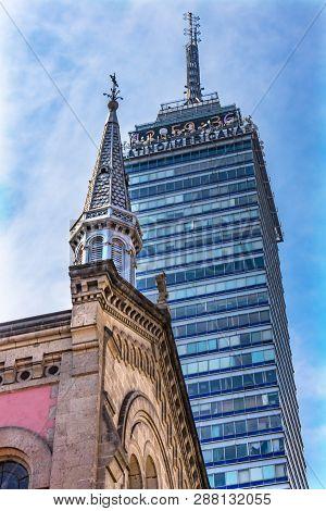 Mexico City, Mexico - January 2, 2019  Capilla Chapel San Fco Church San Francisco Monastery Complex