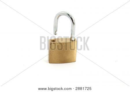 Open Padlock