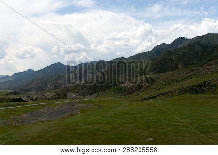 Chui Tract In The Area Of The Tract Kalbak-tash. Altai Republic, Siberia, Russia