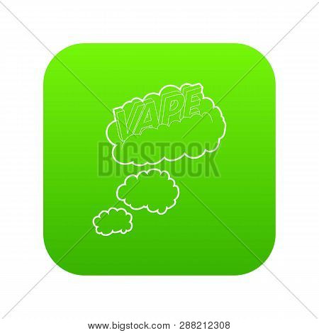 Vape Clouds Icon Vector & Photo (Free Trial) | Bigstock