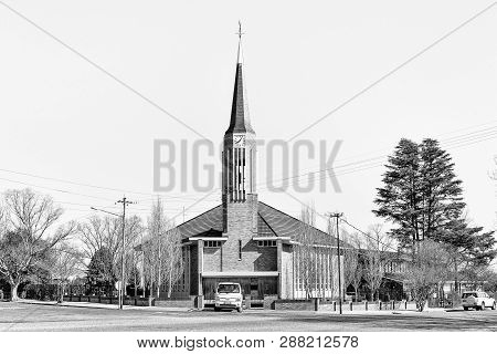 Parys, South Africa, August 2, 2018: The Dutch Reformed Church Parys-west, In Parys In The Free Stat