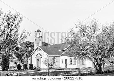Theunissen, South Africa, August 2, 2018: The Dutch Reformed Mother Church In Theunissen In The Free