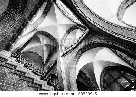 religious architecture poster