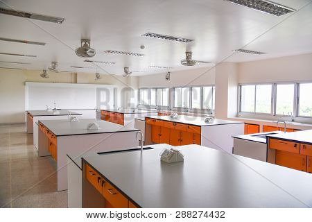 Education Room Laboratory Electricity Or Scientific Lab Learning And Teaching Practice Classroom Mod