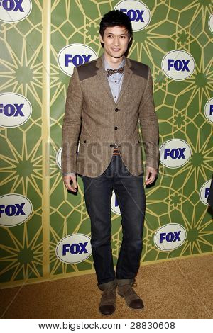 LOS ANGELES - JAN 8:  Harry Shum at the FOX All Star Winter TCA Party at Castle Green on January 8, 2012 in Pasadena, California.
