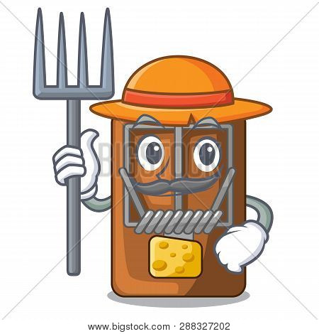 Farmer Mousetrap In The A Character Shape