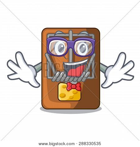 Geek Mousetrap In The Shape Mascot Wood