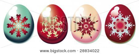 ornamental easter eggs
