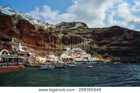Beautiful Santorini Island, Greece