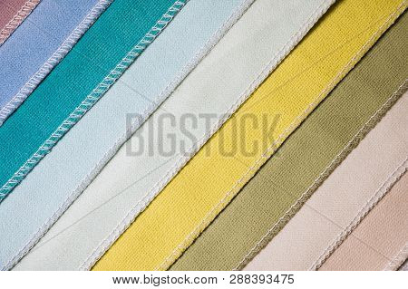 Abstract Diagonal Textile Background Multicolored Stripes From Factory Upholstery Textiles For Furni