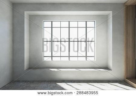 Empty Interior With Window