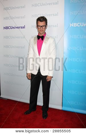 LOS ANGELES - JAN 6:  Brad Goreski arrives at the NBC Universal All-Star Winter TCA Party at The Athenauem on January 6, 2012 in Pasadena, CA