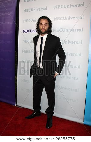 LOS ANGELES - JAN 6:  Chris D'Elia arrives at the NBC Universal All-Star Winter TCA Party at The Athenauem on January 6, 2012 in Pasadena, CA