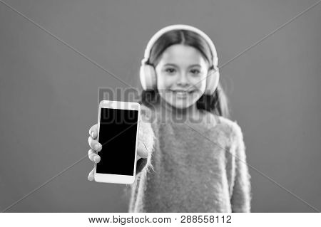 Childrens Day. Audio Technology. Small Kid Listen Ebook, Education. Childhood Happiness. Mp3 Player.