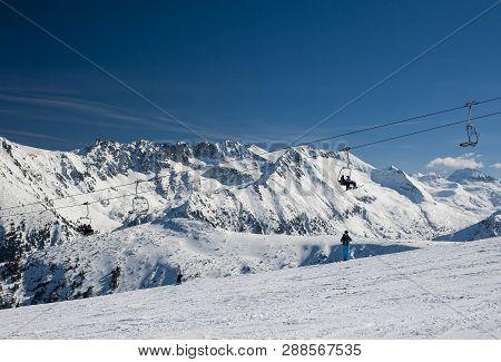 Mountain View Of Bansko Ski Resort, Bulgaria