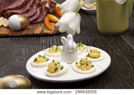 Deviled Eggs Sidedish For Easter