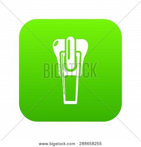 Clasp Icon. Simple Illustration Of Clasp Vector Icon For Web