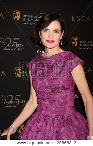 LOS ANGELES - JAN 14:  Elizabeth McGovern arrives at  the BAFTA Award Season Tea Party 2012 at Four Seaons Hotel on January 14, 2012 in Beverly Hills, CA