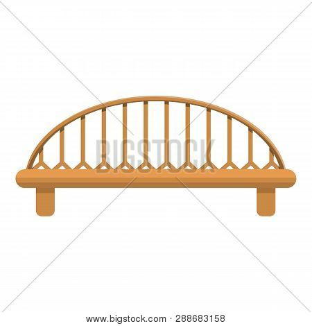 Bridge Icon. Cartoon Of Bridge Vector Icon For Web Design Isolated On White Background