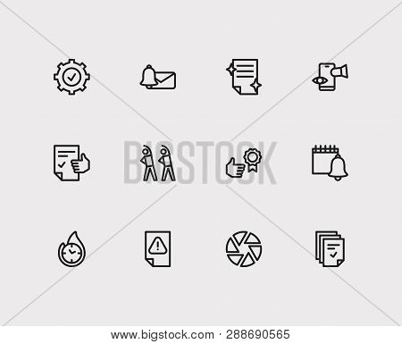 Task Icons Set. Exercise And Task Icons With Reminders, Tasks And Reward Yourself. Set Of Profession