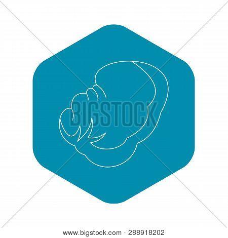 Spleen Icon. Outline Illustration Of Spleen Vector Icon For Web