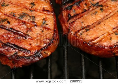 Sizzling Meat