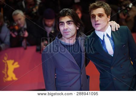 Fatih Akin, Jonas Dassler  attend the 'The Kindness Of Strangers' premiere during the 69th Berlinale Festival Berlin on February 07, 2019 in Berlin, Germany.