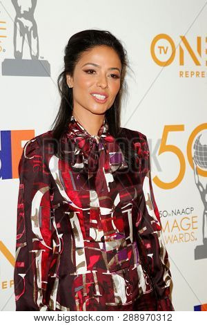 LOS ANGELES - MAR 9:  Meta Golding at the 50th NAACP Image Awards Nominees Luncheon at the Loews Hollywood Hotel on March 9, 2019 in Los Angeles, CA