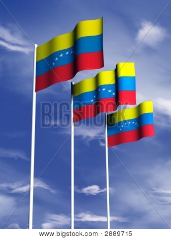 Venezuala Flag