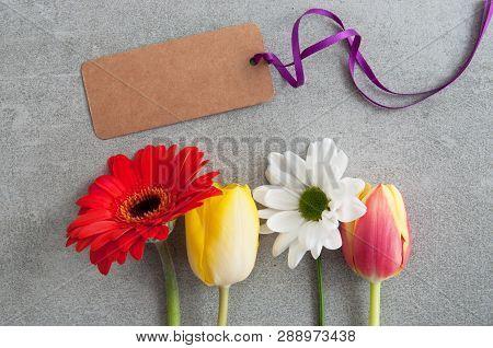 Seasonal Flower Greeting