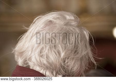 Older Man With Gray Hair
