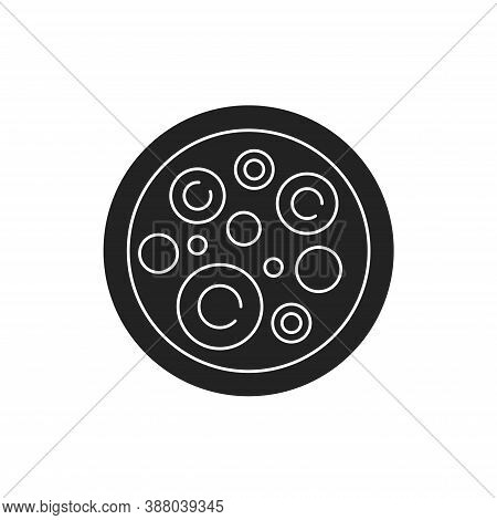 Stem Cells Black Glyph Icon. Cells That Can Differentiate Into Other Types Of Cells. Can Also Divide