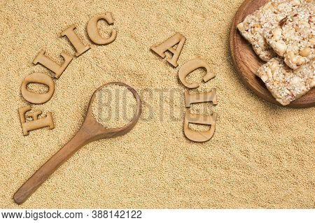 Amaranth Seeds And Bars - Amaranthus. Folic Acid