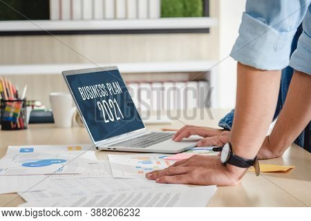 Close Up Hand Creative Designer Team Casual Meeting And Brainstorming Business Plan With Paperwork A