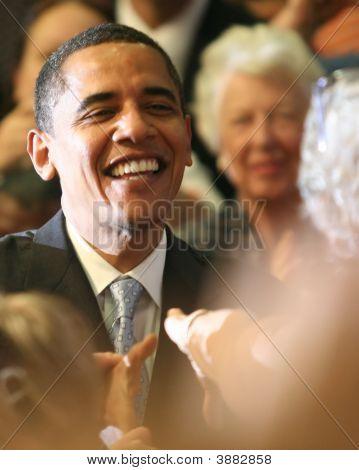 Barack Obama Handshake