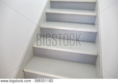 Stairs leading upstairs in a house
