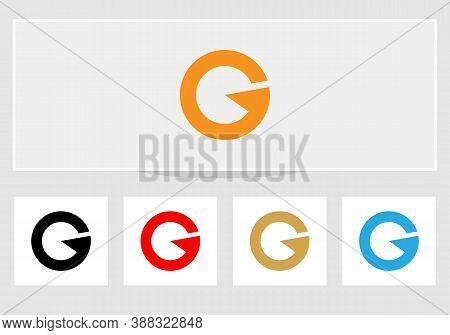 G Letter Logo, Creative G Logo Design With Modern Trendy. Minimal G Letter Logo Design