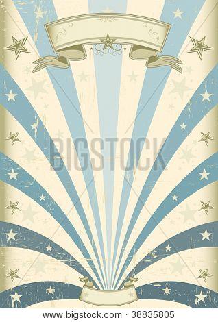 Vintage Blue background. A vintage blue background for your message
