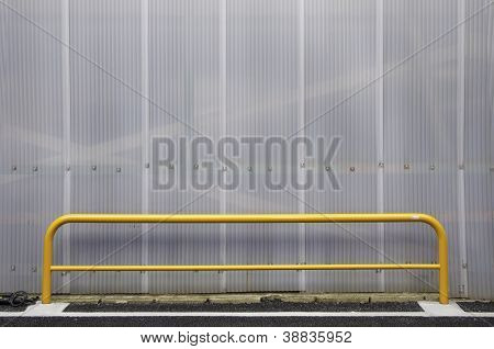 Texture Polycarbonate Cells With Yellow Bar