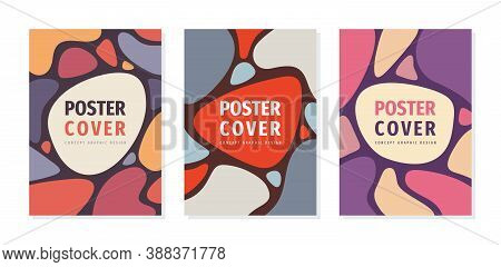 Poster Geometric Concept Design. Cover Book, Brochure, Leaflet, Magazine, Album. Business Presentati