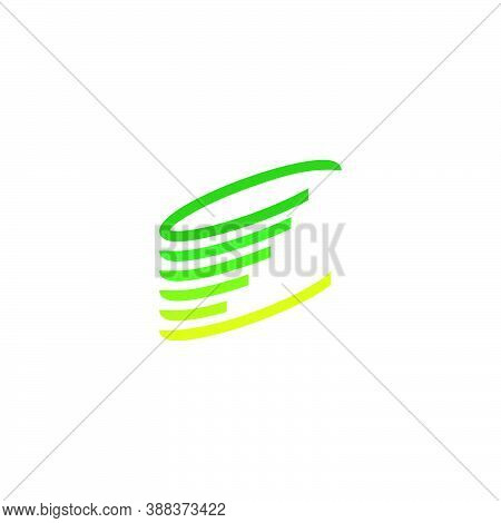 Logos Of Sequential Circular Moving Dynamic Stripes