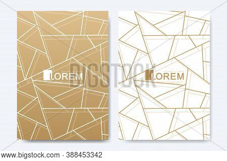 Modern Vector Template For Brochure, Leaflet, Flyer, Advert, Cover, Magazine Or Annual Report In The