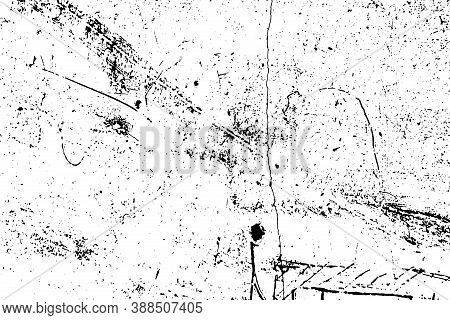 Aged Splatter Crumb Wall Backdrop. Distressed Spray Grainy Overlay Texture. Grunge Dust Messy Backgr